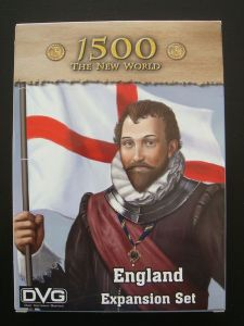 1500 : The New World - England Expansion